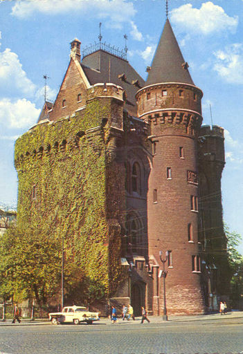 Belgium - HALLE POORT CASTLE