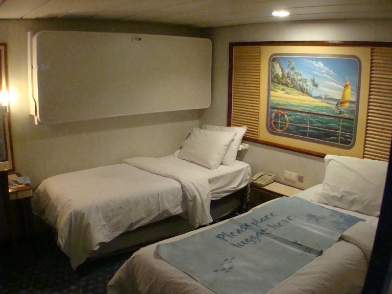 Inside Cabin Triple