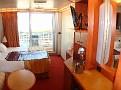 Spa Deck Balcony Cabin 8F /