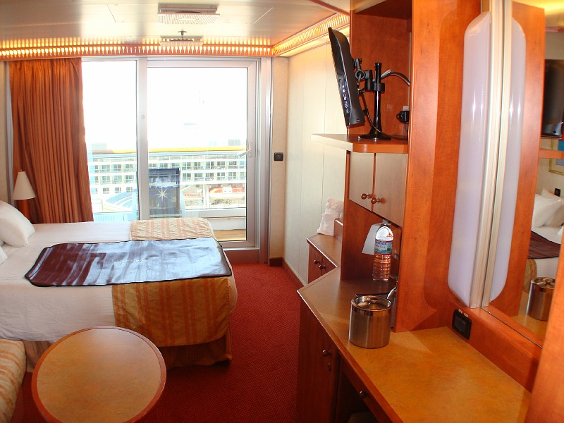Photo Spa Deck Balcony Cabin 8f Carnival Glory Cabins