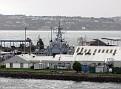 Irish Naval Base at Haulbowline