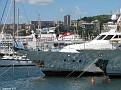 Island Star & Braemar through the marina