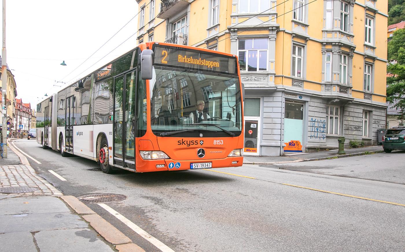 Bergen city bus