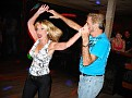 Elisabeth is really enjoying the dance.....