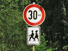 Höchstgeschwindigkeit für Wanderer?