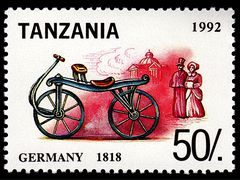 Historie of bikes - Germany 1818