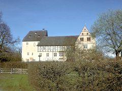 Schloss Varenholz Westfassade