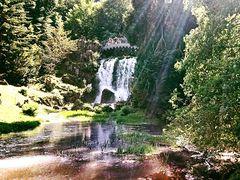 Wasserfall Teufelsbrücke