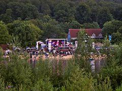 Open air concert, Schiedersee