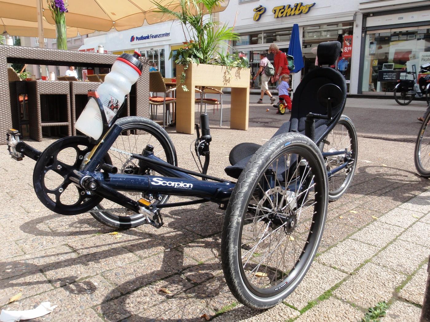 Liege-Dreirad Scorpion