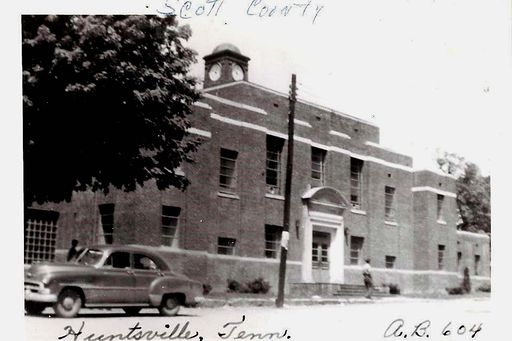 Old Courthouse at Huntsville, TN