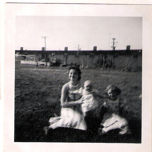 147-Irene Chambers Chitwood, Mom and Aunt Pat