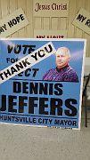 DJ- (10) - New Huntsville Mayor