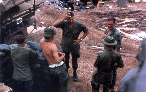 299th Medics at DAK TO, 1969