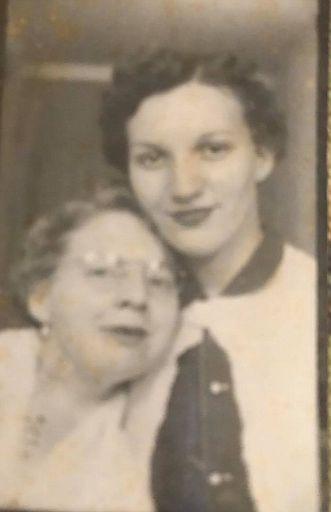 Mae Sharp and Wilma Jean Lowe