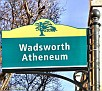 Wadsworth Atheneum sign