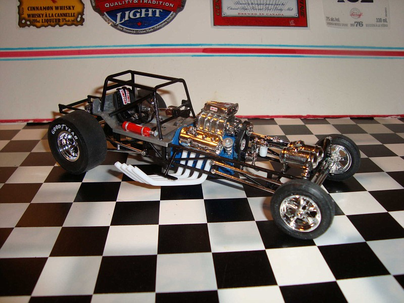 Related Pictures blue max funny car revell
