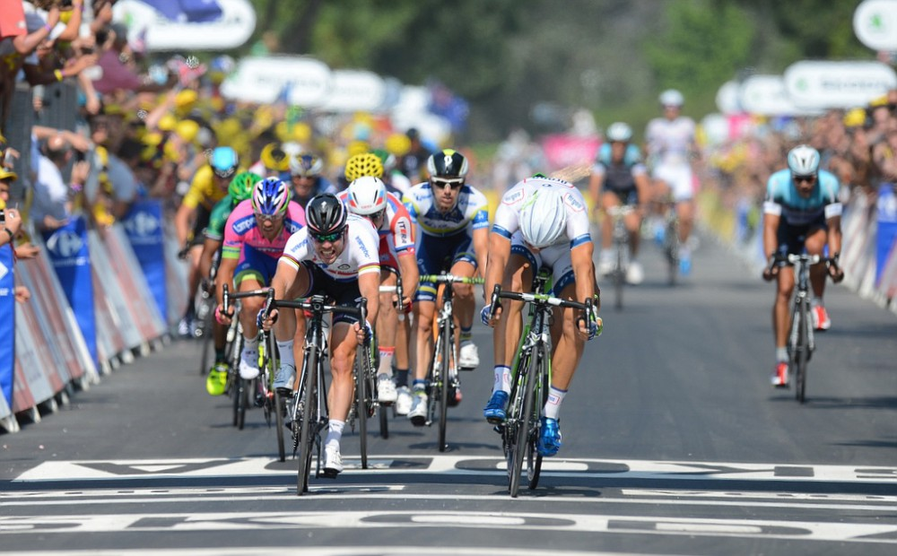 Marcel Kittel wins stage 12
