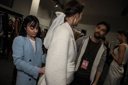 Bevza Backstage - NYFW SS19 - February 12, 2018 in NYC