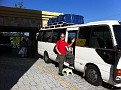 Our tour bus in SN Salvador!!!  We're off!!