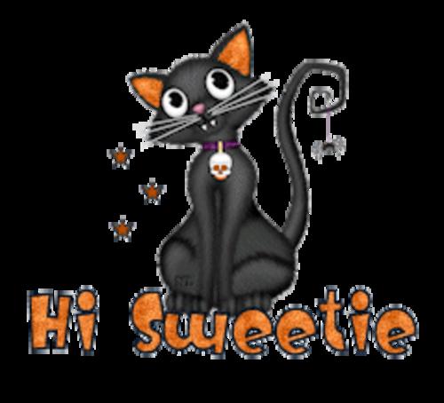 Hi Sweetie - HalloweenKittySitting