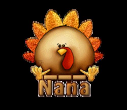 Nana - ThanksgivingCuteTurkey