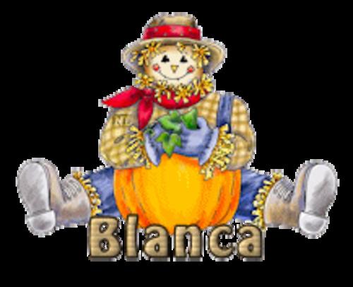 Blanca - AutumnScarecrowSitting