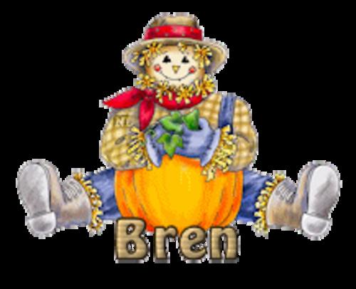 Bren - AutumnScarecrowSitting