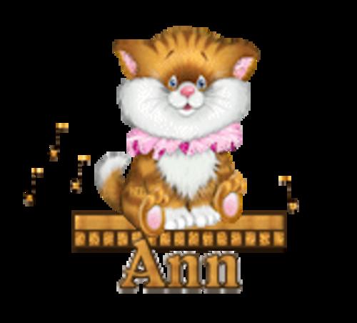 Ann - CuteKittenSitting