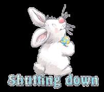 Shutting down - HippityHoppityBunny