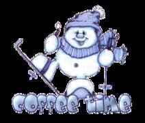 Coffee time - SnowmanSkiing