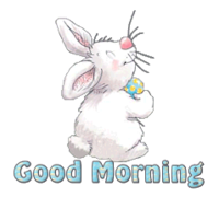Good Morning - HippityHoppityBunny