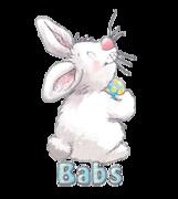 Babs - HippityHoppityBunny