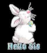Hello Sis - HippityHoppityBunny