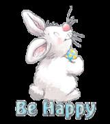 Be Happy - HippityHoppityBunny