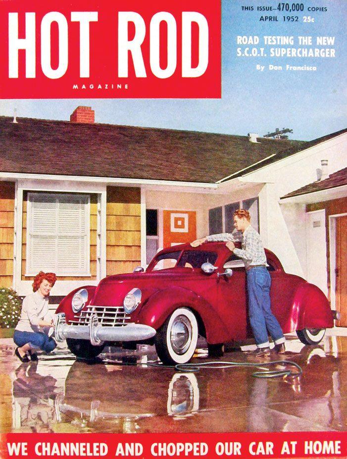 Glenn Johnson 1937 Ford