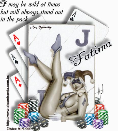Fatima Joker AMiranda Alyssia