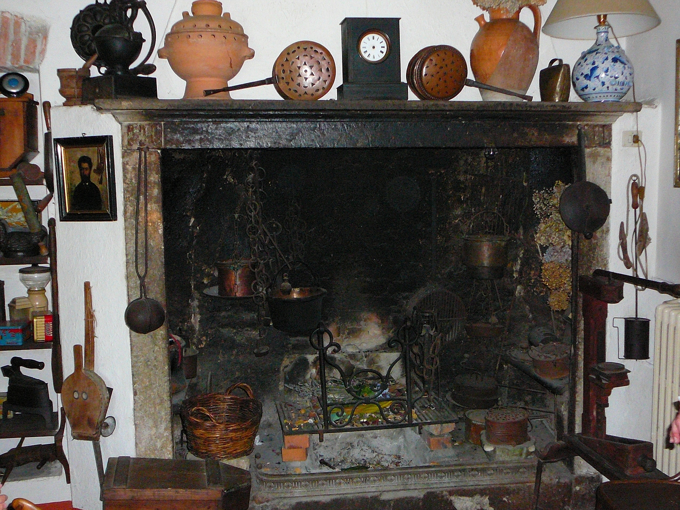 Amazing 400yr Old Fireplace