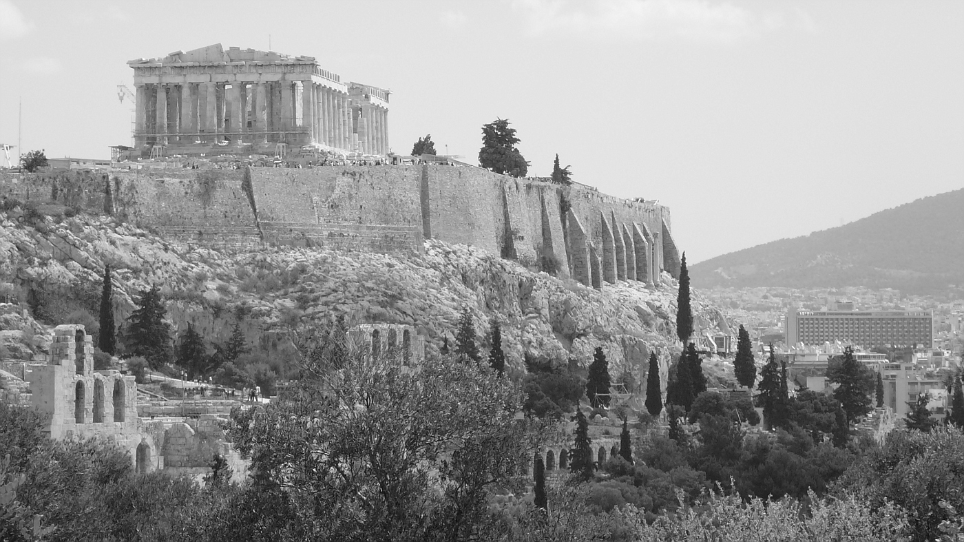 The Acropolis Complex from Afar