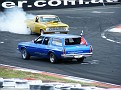 Ian Bennett's 78 HZ Holden and the HR get it on 001
