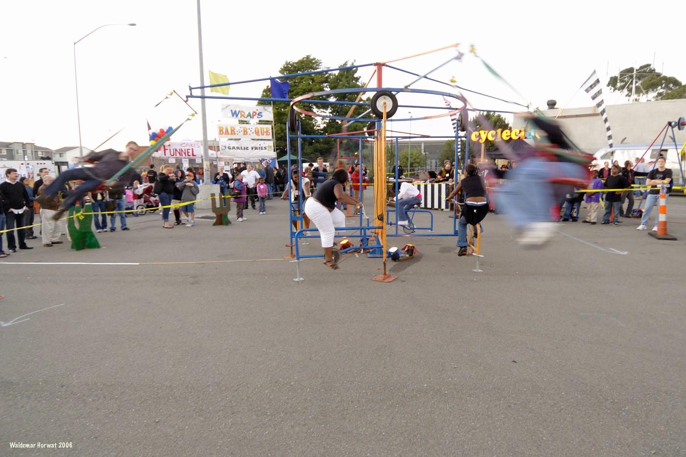 Human-Powered Carousel