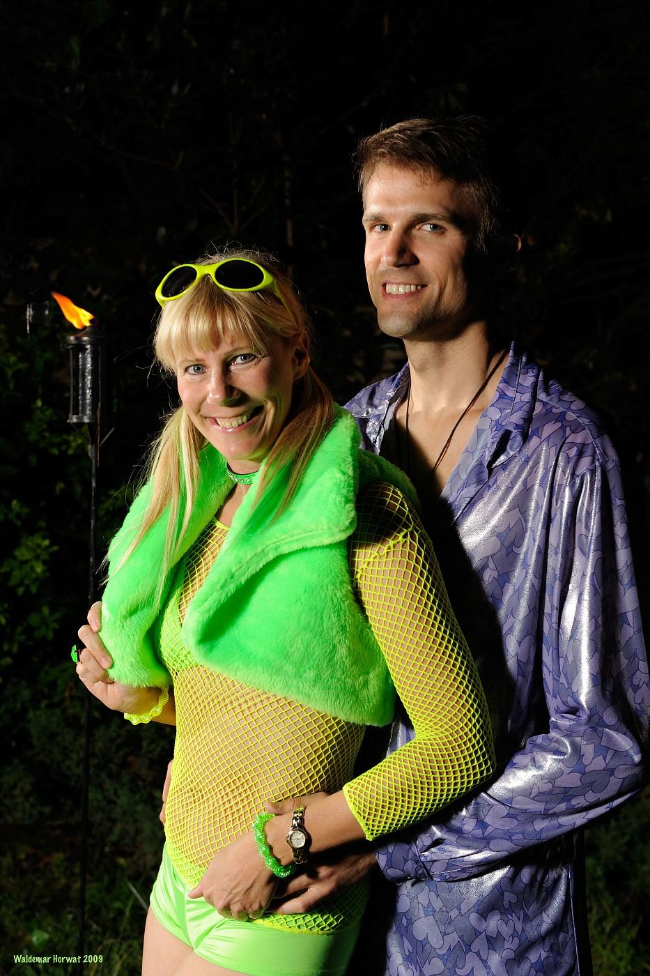 Glow Girl and Playa Meerkat