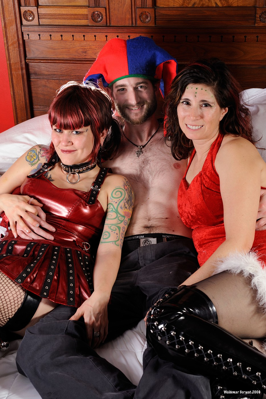 Melody, Brian, and Melanie