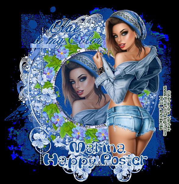ARE YOU A HAPPY POSTER? - Page 3 BluecoloMarinavi-vi