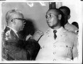 Jn. Rene Boucicaut being promoted by Duvalier!