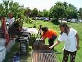 Mia & Mona Lissa Cooking @ Sakapfet Barbecue