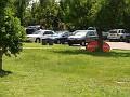 Parking lot @ Sakapfet Barbecue
