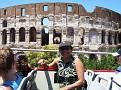 Jessie enjoying Rome