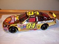 1998 Bill Elliott NASCAR 50th Anniversary Gold Chrome. (Show car) See More of this Model Here: