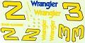 1981 Dale Earnhardt Wrangler JNJ #139  693